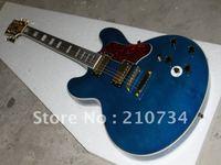 Wholesale -Custom shop BBK blue electric guitar instrument free delivery