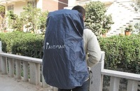 Free shipping,great rain cover.backpack rain protecter.PU5000.camping.outdoor.