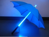 LED Umbrellas   photoelectric umbrella Straight shank umbrella creative umbrella