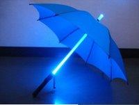 LED Umbrellas   photoelectric umbrella Straight shank umbrella creative umbrella