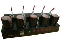 New 5in1 Mug Heat Press machine Heat Transfer Machines For Mug Express Shipping