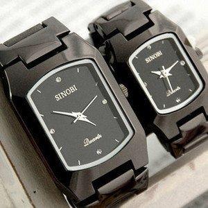 EMS/DHL FREE SHIPPING!! HIGH quality SINOBI fashion quartz watch hot sale watch black colour 27pcs/lot 3582