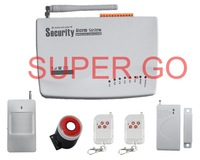 Wireless Home Alarm GSM SMS Security System For Garage Storge Store House Garden