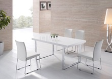 Tempered galss dining table dining chair set(China (Mainland))