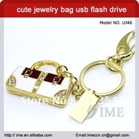 Free shipping ,fashion bag usb drive,sliver ,golden fashion usb,2G4G8G16G32G for option
