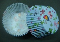 free shipping  wholesales 500pcs shoe&glasses&umbrella liners baking paper cup muffin cases for party favor