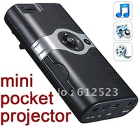 2012 Fashionable Handheld Projector,Portable Micro Mini LED Projector With phone Compatible + Free shipping China Post Sample