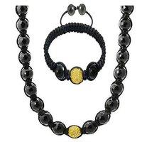 New style Free shipping Shamballa Crystal Disco Ball Necklaces Set  Crystal jewelry Shamballa jewelry set
