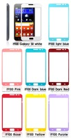 Wholesale Colorful For Samsung Galaxy SII  LCD Screen Protective Plastic Film   Free shipping