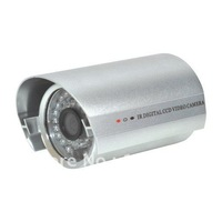 10PCS/LOT Waterproof  IR CCD camera, Cmos  1/3'', 420TVL or 600 TVL, free shipping