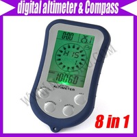 Digital LCD Compass Altimeter Thermometer Barometer #1464
