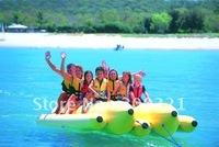 inflatable banana boat for 10 persons double