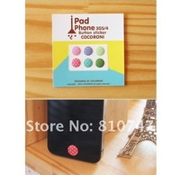 150pcs/lot brand new Free shipping HOME stickers Button label For iPhone 4 4S iphone 3 3GS for cell phone