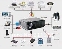LED Video Projector with AV/VGA/DTV USB/USB/DTV Tuner/HDMI Suppport Full HD 1080P
