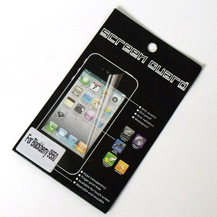 High Clear Screen Protector for Blackberry Verizon 9550 Screen Guard with Retail Packaging 50pcs/lot Free Shipping(China (Mainland))