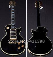 black custom shop peter frampton signature electric guitar 3 pickups EMS free shipping
