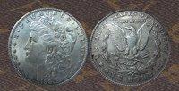 1883-s morgan dollar  silver coin