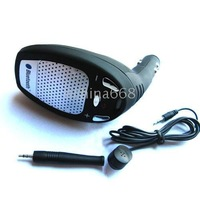 Free shipping by EMS 20pcs/lot. New Bluetooth Cellphone handsfree Speaker Car Kit bluetooth car kit handsfree headset