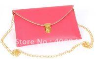 120124 free shipping Ladies' bags 2012 New Fashion hanbag BAGS pu dual purpose bag Envelope package