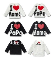 I love mom and dad of men and women children jacket shirt free shipping