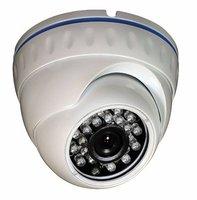 "Free Shipping 3.6mm Fixed Lens 23pcs IR Led 20M IR Range 2.5"" Metal Dome Camera"