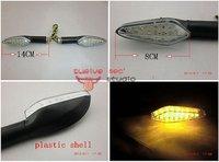 high quality motorcycle universal plastic led turn signal light