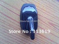 Free shipping generic type of car decorative antenna, 100% real carbon fiber decorative antenna, shark antenna