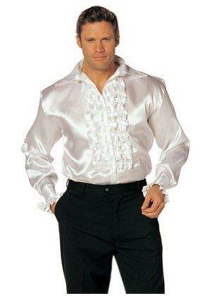 popular ruffled shirts men aliexpress