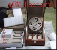 WB3405  gift box  jewelry box wooden box watch box  WATCHWINDER MEDIUM 2X3 WTC TAN