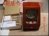 WB3409  gift box  jewelry box wooden box watch box  WATCHWINDER MEDIUM 2 X 3 TAN