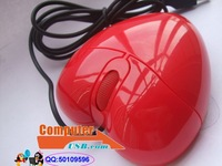 USB Heart Mouse Red Heart computer mouse Heart-shaped Mouse