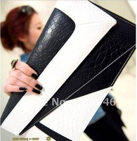 120125 free shipping  Ladies' bags 2012 New  briefcases hand bag snakeskin pattern fashion ladies' bag