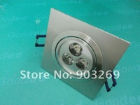 Discount + 30PCs TH05/TH06 3W 3 LED Ceiling Down Light  270 Lumens 85-265V 2800-3200K/6000-6500K Warm White/White Down Light