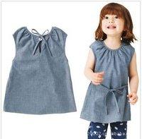 Юбка для девочек Hot korea design 2012 baby girl cute bow skirt girl party dance skirt kids Khaki red dress children summer clothes