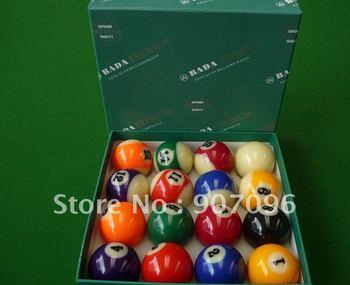 Billiard pool ball  Snooker balls high quality balls 1 set 52.5mm