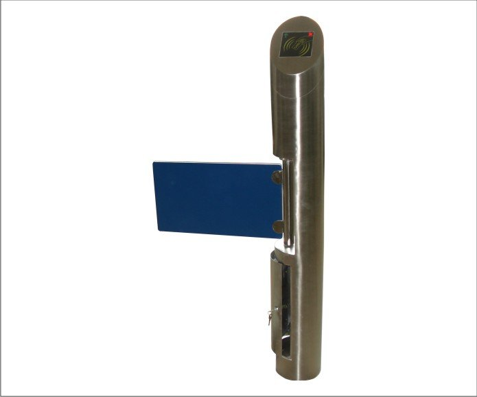 swing gate barrier for pedestrian access control