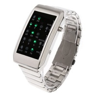 LED Digital Wrist Sport Watch Clock Fashion Alloy Women Man  quality watch