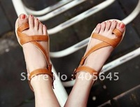 Han edition Roman wind set a toe with sandals