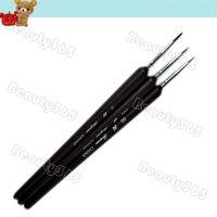 5pcs пунктировке ручка 2-way marbleizing инструмент Лак краска маникюр точка ногтей набор 771