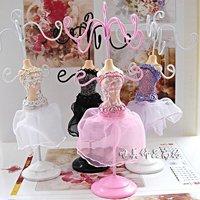 Jewelry display, noble ballet model framework, earrings, jewelry ring frame. Model shelf