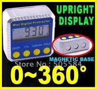 Digital LCD Inclinometer Angle Gauge leveler Protractor