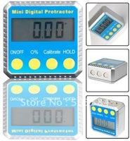 Mini Digital Level Protractor 4 X 90 degree Angle Finder Inclinometer Gauge Meter LCD Screen