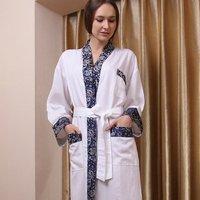 SHLR Wooden propeller fiber fabrics bathrobe/pajamas,5 star international hotel,disposable,LOGO OEM customized,Factry directly
