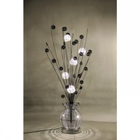 Hot selling flower art aluminum floor lamp table light  dream lamp   --------Free Shipping