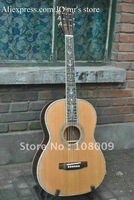 Deluxe Handmade Classical 6 strings acoustic guitar AAAA Solid spruce ebony fingerboard acoustic guitar