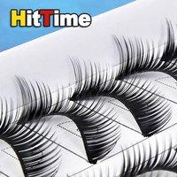 10 пар толстые мягкие длинные ресницы ресницы #h2 [2777 | 01 | 01