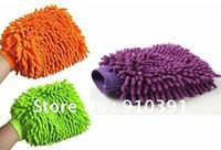 Free Shipping microfibre super mitt,cleaner gloves cloth,neil fiber car wash mitt gloves towel,TV/Glass/PC clean care experts!