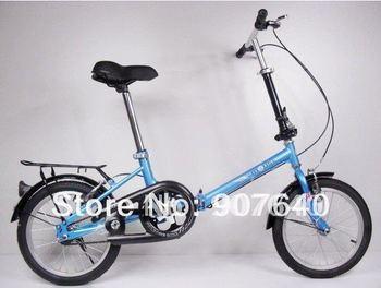"Hot Sale 16"" Mini Folding Bicycle Folding Bike Mountain Bike Suspension bike (SKU:120)"