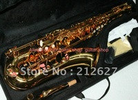 Newest Golden YTS62 Sax Tenor Saxophone with case High Quality Wholesale