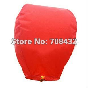 10pcs RED color hot love WISH BALLOON SKY FIRE LANTERNS AIR UFO Wishing lamp giftscom Blessing light novelty free shipping